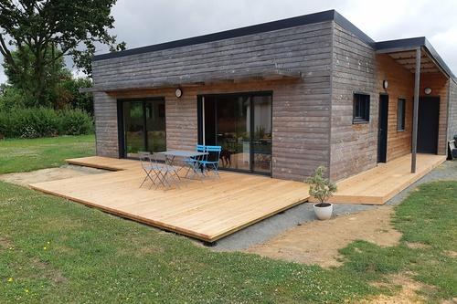 Terrasse en bois - Plouha, près de Saint-Quay-Portrieux