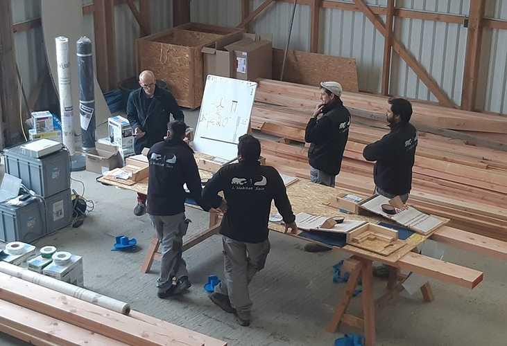Nos équipes de professionnels pour votre Construction Bois en Côtes d''Armor (22) 0