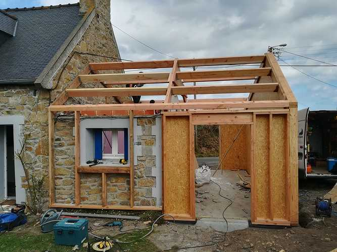 Projet extension maison en pierre - rénovation énergétique - Pleubian (22) 0
