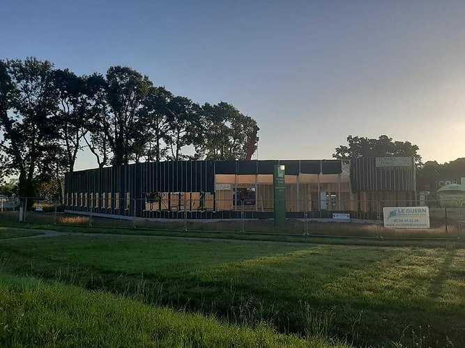 Construction de l''office de tourisme - Lanvollon 10763352910637951073515434156527384507510210n
