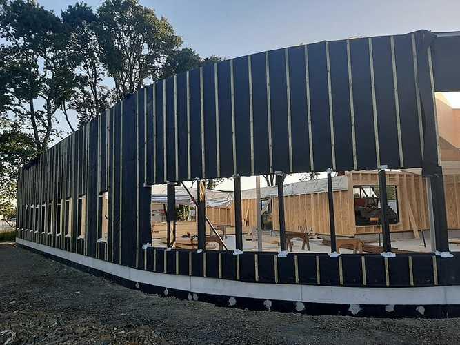 Construction de l''office de tourisme - Lanvollon 0